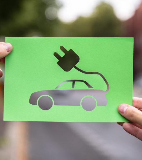 De app is ook voor elektrische auto's
